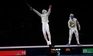 [1보] 남자 사브르 단체전 금메달… 올림픽 2연패 달성