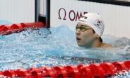 [수영] 이주호, 배영 200m 결승행 좌절…전체 11위