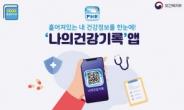 """""""네이버 ID로 '나의건강기록 앱' 로그인"""""""