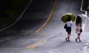 오늘 전국 빗방울, 습도 탓 체감온도↑…주말에도 폭염 계속