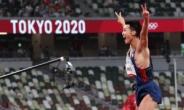 [육상] 우상혁, 높이뛰기 한국 신기록 달성… 마의 2m34 넘었다 [종합]
