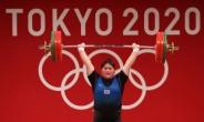 [역도] 여자 최중량급 이선미, 첫 올림픽서 4위