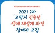 고양시, '5060 신중년 생애 재설계 과정' 제2차 참여자 모집