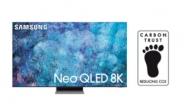 삼성 Neo QLED, 英 '탄소저감인증' 획득