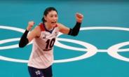 '런던 득점왕·MVP' 김연경, 마지막 올림픽서는 득점 2위