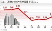 """""""말 많아도 GTX는 득"""" 김포 아파트값 상승세 반등…84㎡ 10억원 목전 [부동산360]"""