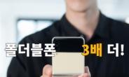 """""""삼성이 다했네""""…폴더블폰 올해 '3배' 더 팔린다"""
