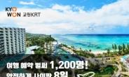 교원KRT, 사이판 여행 사전예약 1200명 돌파…코로나 이후 최대 모객