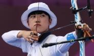 '올림픽 3관왕' 안산, 세계선수권 개인전 8강행…메이저대회 3연패 향해 '순항'