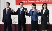 """일본 총리 유력 후보들 """"야스쿠니 참배 없다"""""""