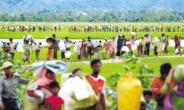 미얀마 난민 1만5000명, 국경 넘어 인도로