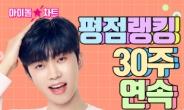 임영웅, '아이돌랭킹' 30주 연속 1위…'그날들' 영상은 800만뷰 돌파