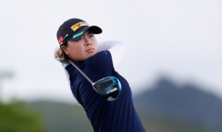 LPGA, 타와타나킷 이어 또 신예 돌풍…필리핀 사소, 롯데챔피언십 이틀 연속 선두
