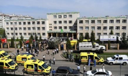 러 카잔 학교서 졸업생이 무차별 총격…최소 20여명 사상
