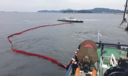 여수 오동도 앞 선박 급유중 기름 780ℓ 유출