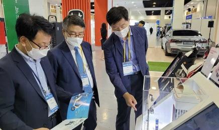 박상철 호남대 총장, 국제전기자동차엑스포 참석