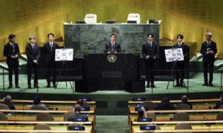 WHO 사무총장, 유엔총회서 백신 언급한 BTS에 감사 인사