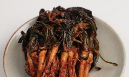 """""""인삼을 닮은 채소""""...순천 특산물 고들빼기김치 담그는 법 배워가세요"""