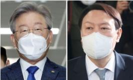 이재명-윤석열 '엎치락 뒤치락' 양강구도…300일 남은 대선까지 이어질까? [정치쫌!]