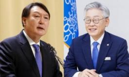 윤석열 28.8% vs 이재명 23.6%…尹, 오차범위 내 역전 [KSOI]