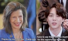 BTS 지민, 유엔 총회 후 고위 관료들 관심 한몸에