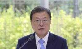 文대통령 탄소중립위 회의 참석…'2030년까지 온실가스 40% 감축'