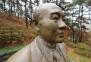 전두환 동상 목 부위 쇠톱으로 훼손…50대 벌금 700만원