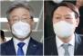 """이재명, 대권 가상대결 첫 역전…""""이재명 42% vs 윤석열 35.1%"""" [갤럽]"""