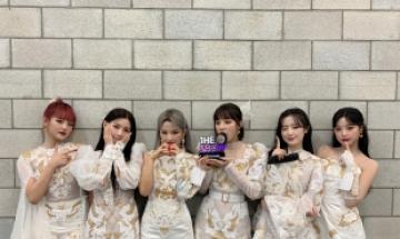 (여자)아이들, 신곡 '화(火花)'로 '더쇼' 1위 차지…6관왕 달성