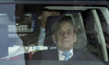 """""""영국 여왕 남편 99세 필립공, 심장수술 받고 회복 중"""""""
