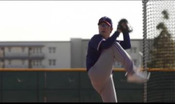 텍사스 양현종, 시범경기 첫 등판…다저스전 1이닝 1피홈런 1실점