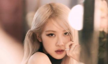 블랙핑크 로제, 19년 만에 韓 여성 솔로 가수 '하프 밀리언 셀러'
