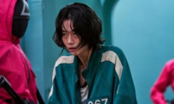 '오징어 게임'정호연, 해외 반응 터졌다…공개 5일만에 팔로어 100만명 급증