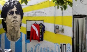 '축구전설' 마라도나 생가, 아르헨티나 국가기념물로 지정