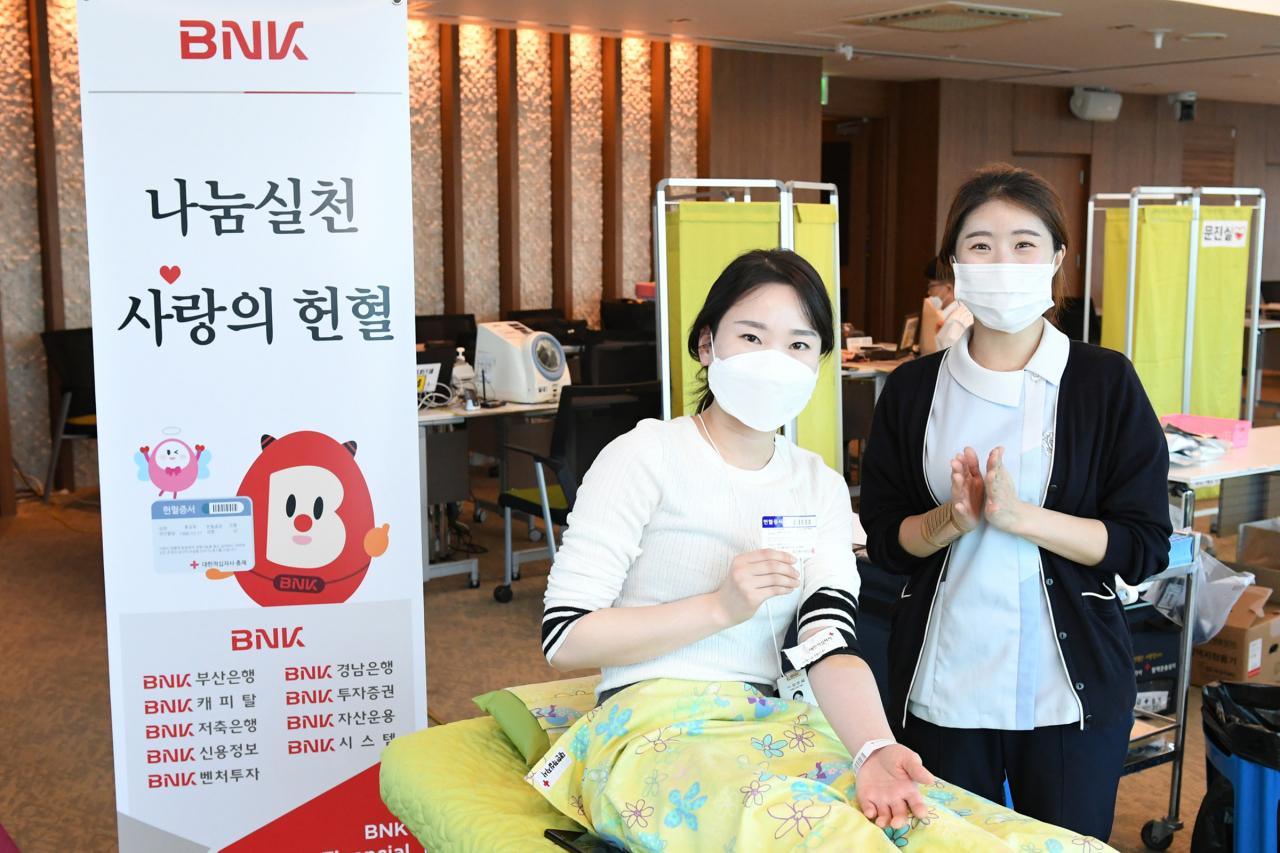 코로나 사태, 극복위해 나선 지방銀…헌혈·지역경제 살리기