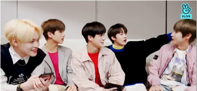 [V Report] NCT quintet goes live