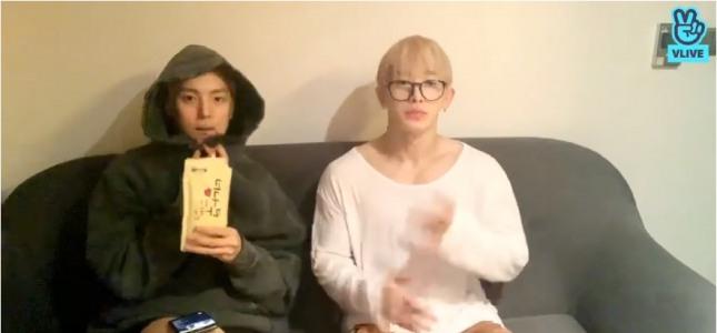 [V Report] Monsta X's Minhyuk, Wonho sit down for marathon chat