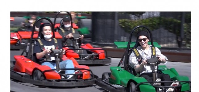 [V Report] GOT7 has day of motor fun in LA
