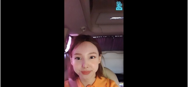 [V Report] Twice's Nayeon ready for June shows