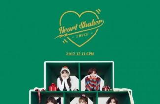 트와이스 '하트 셰이커', 7개 음원 차트 정상 아이튠즈 9개국 1위