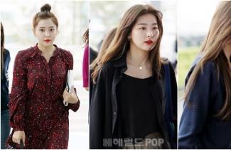 [POP영상]레드벨벳 '대만 공연 출국 현장' , '예쁨에 건배를'