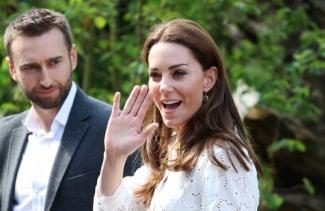[할리웃POP]'英 왕실 맏며느리' 케이트 미들턴, 편한 패션도 화제