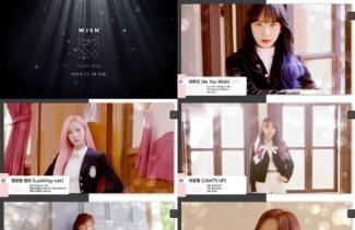 우주소녀, 새 앨범 'As You Wish' 음원 프리뷰 공개..다채로운 매력 발산