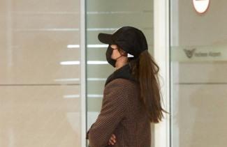 [포토]AOA 설현, 발 바쁜 입국길