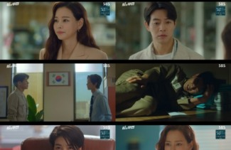 '원더우먼' 이하늬♥이상윤, 진심 닿은 취중 키스..최고 18.8% 1위