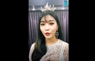 [V Report Plus] Chungha dolls up in pursuit of No. 1