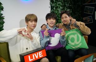 [Kpop Herald x B1A4] B1A4 notches 500,000 viewers on Twitter's Blueroom live