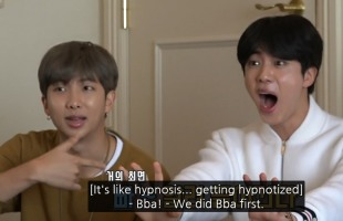 [V Report] BTS plays games based on knowledge of own songs