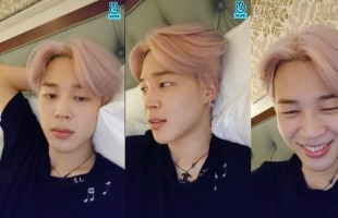 [V Report] 'Promise' originally a dark song, says BTS' Jimin
