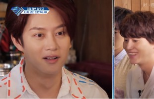 [V Report] Super Junior bandmates can't get enough of each other